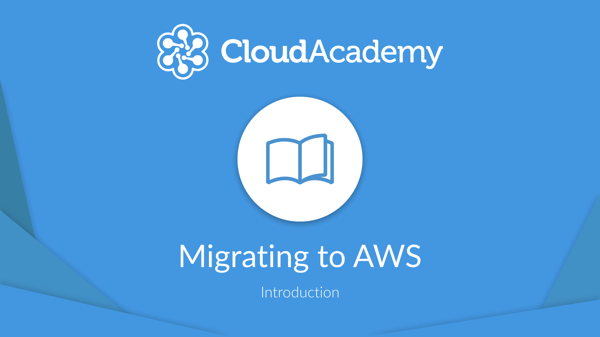 Migrating to AWS - Introduction